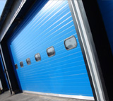 AJD Security, Sectioned Overhead Doors, Leeds Wakefield Yorkshire